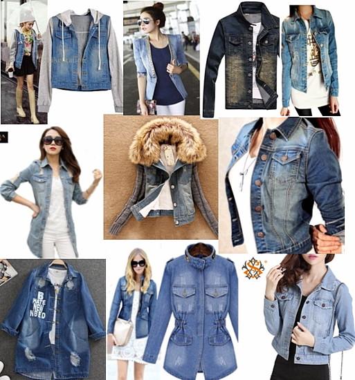 Джинсовые-куртки
