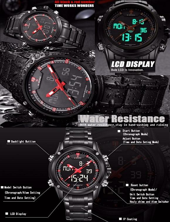 Часы Naviforce 9050