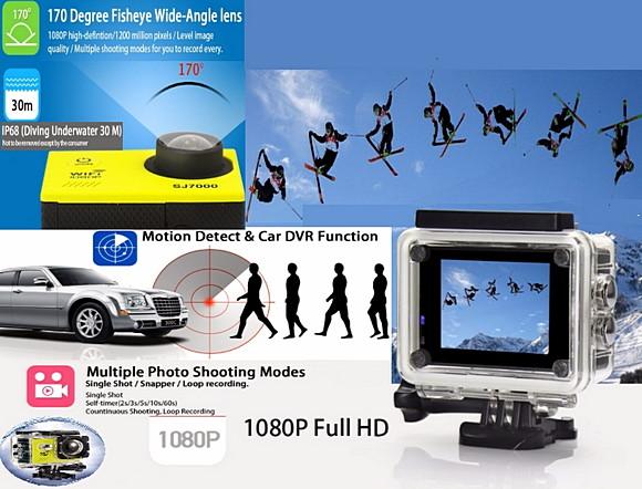 Экшен камера sj7000